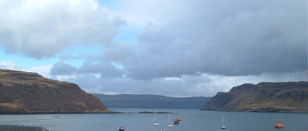 Portree Bay And Harbour Isle Of Skye Scotland Again