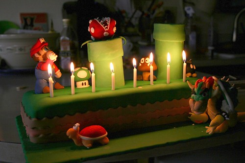 Mario Cake & Candles | by bgallay