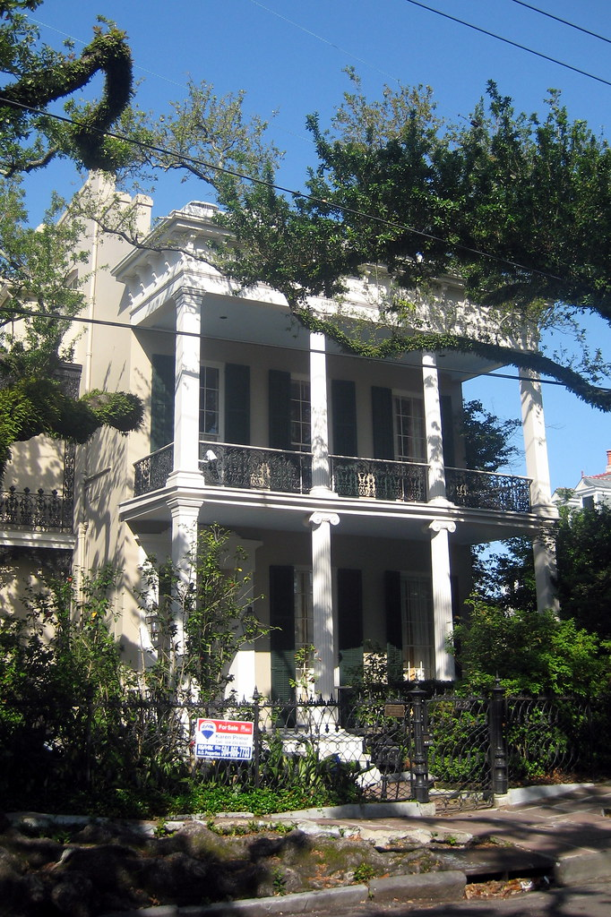 New Orleans - Garden District: Brevard-Wisdom-Rice House ...