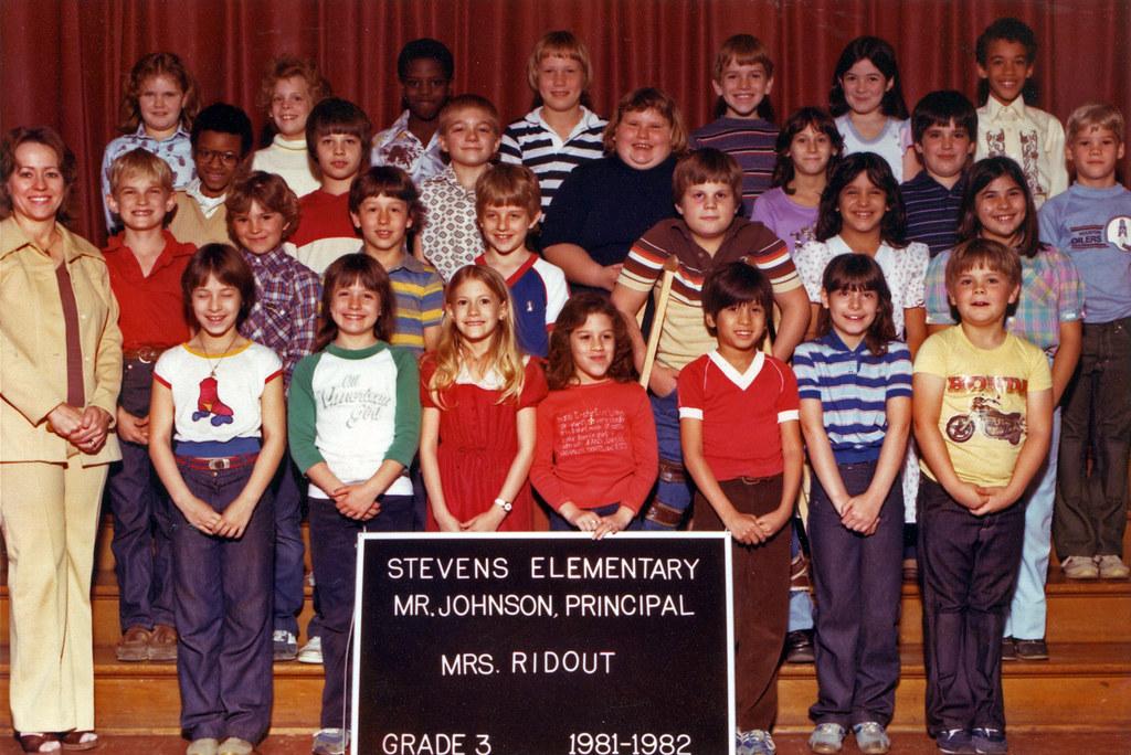 Terry 3rd Grade Class Picture Teacher Mrs Ridout Year