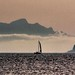 Il respiro di Eolo ..  Eolo's face . breathtaking silhouette from the sea