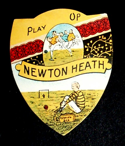 Newton Heath 1878 1902 Very Rare Sharpe S Card In 1902 Ne