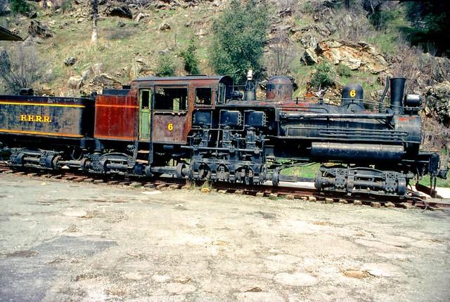 Shay Locomotive | Shay locomotive at El Portal, Ca, near ...