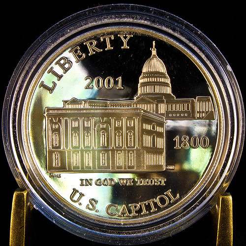 US Capitol Visitors Center Silver Dollar | by Orbital Joe