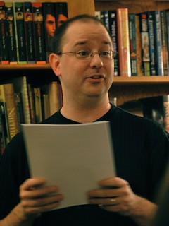 John Scalzi at Borderlands Books | by Jared G