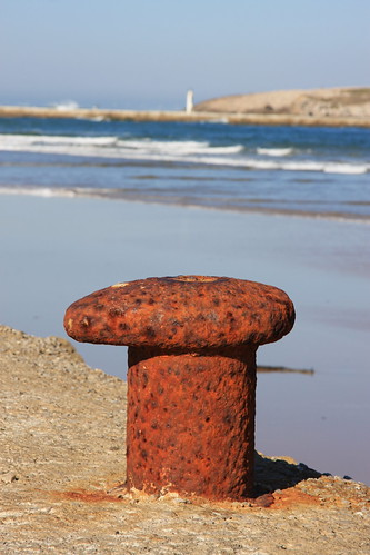 Big Rusty Bollard | by erikrasmussen
