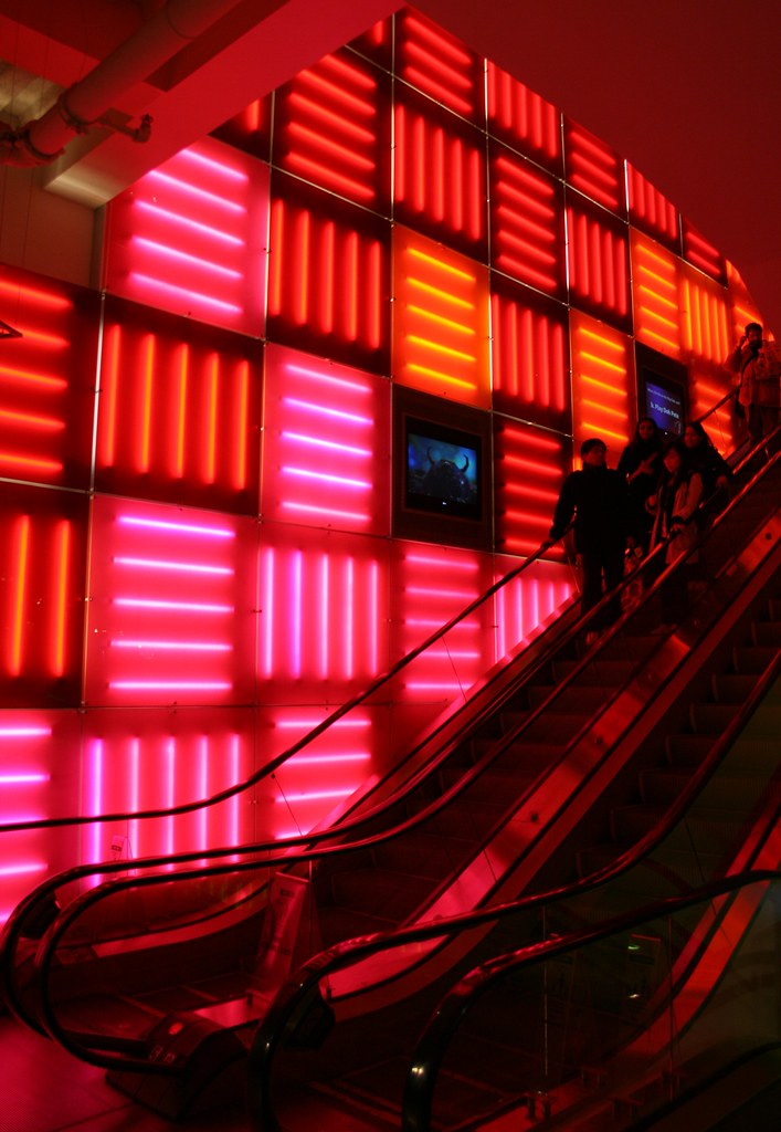 Cool Lights Inside Toys R Us at Times Square, New York Cit? Flickr