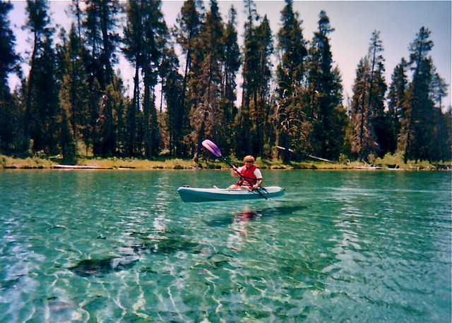 Crater Lake National Park Oregon >> Spring Creek Flying Kayak | Spring Creek has water so clear … | Flickr