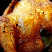 Roast Chicken Stuffed with Lime