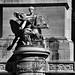Brussels, Belgium 103 - Parc du Cinquantenaire -  Triumphal arch (detail)