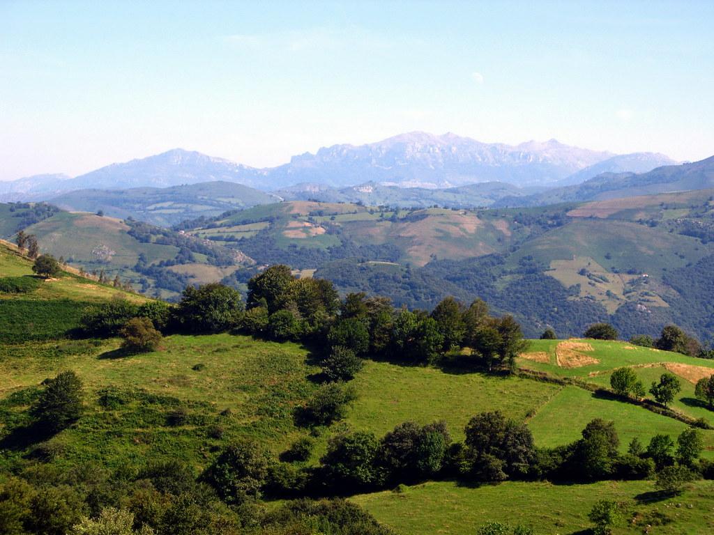 cordillera cantabrica - paisaje de Asturias | las sierras ...