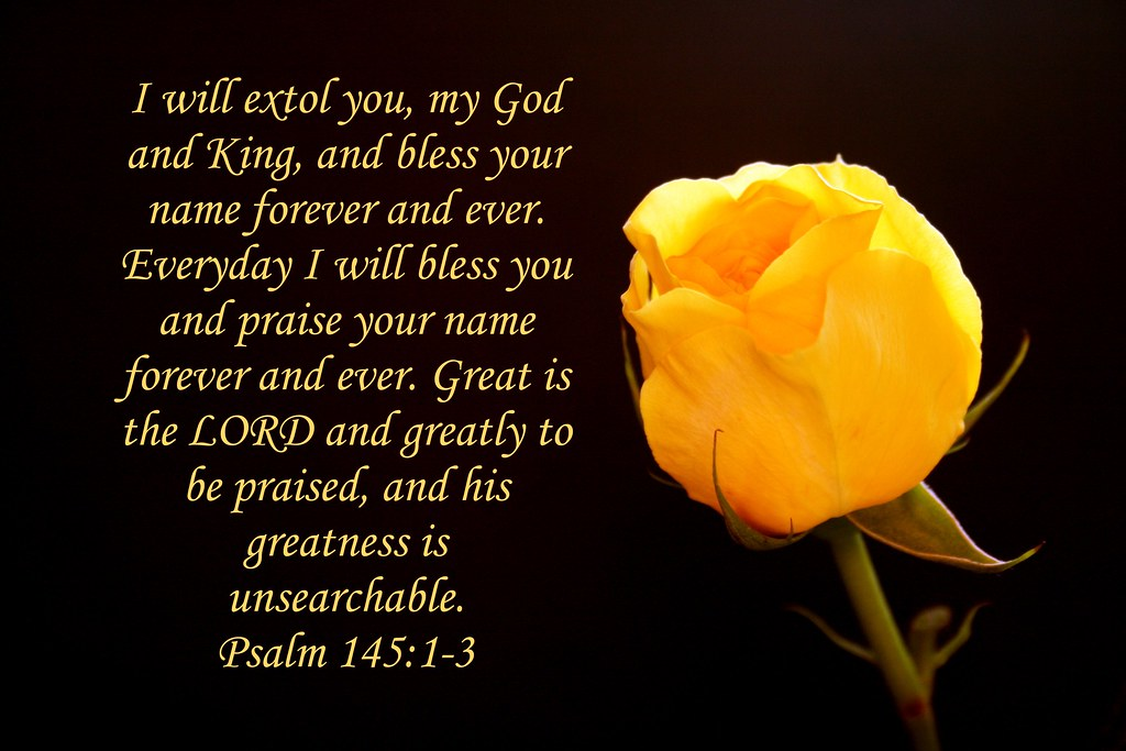 Image result for psalm 145:1-3