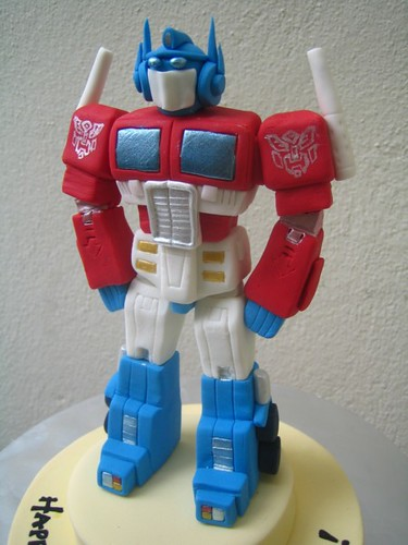 How To Make A Transformers Cake Topper