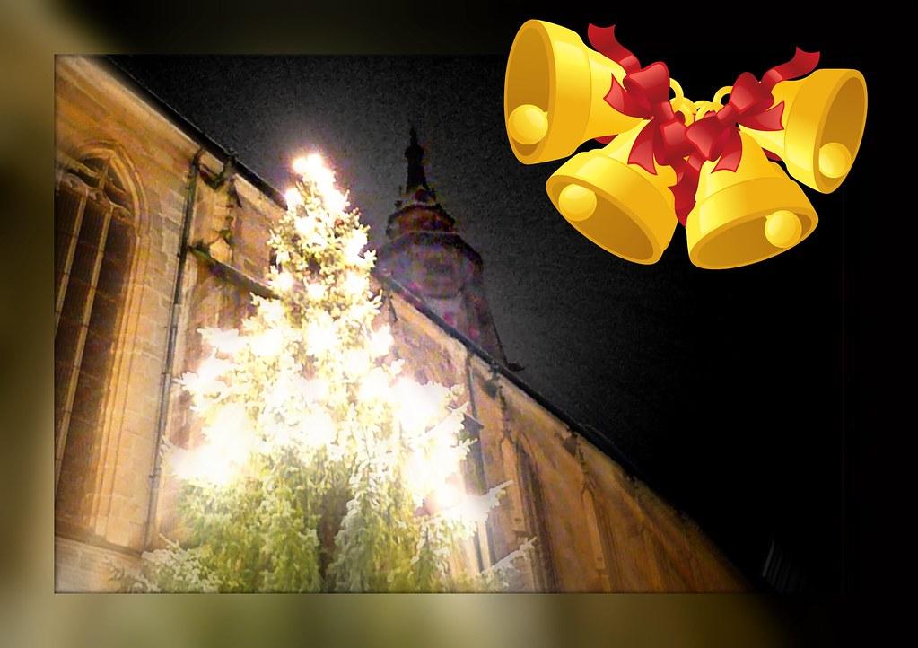 happy xristmas holidays t bingen stiftskirche frohe. Black Bedroom Furniture Sets. Home Design Ideas