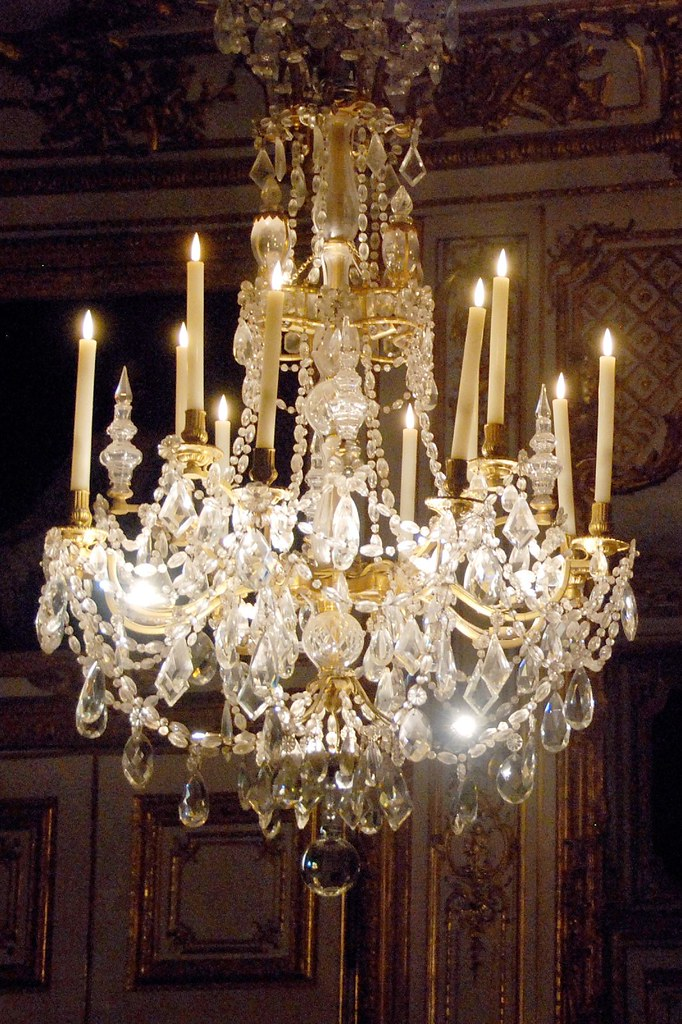 Versailles - Chandelier | Another chandelier in the King's ...