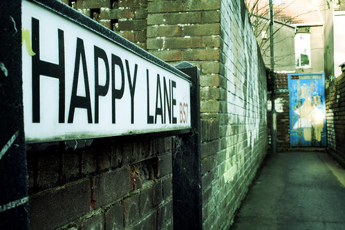 Taken up Happy Lane | by archidave