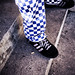 chefs trousers & adidas