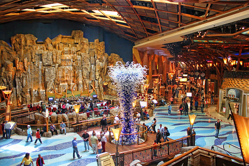Mohegan Sun Gift Cards can be used for shopping, dining and entertainment and are accepted at the luxurious hotel at Mohegan Sun, including the Earth Tower, Mandara Spa, Mohegan Sun Golf Club and Mohegan Sun's Mobil Gas Station & Convenience Store.