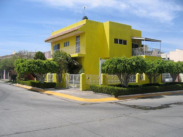 Ein Haus Farben Guadalajara Bcmng Flickr