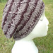 Natural tones cabled slouchy