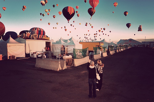 Back Alley at the Balloon Fiesta | by a4gpa