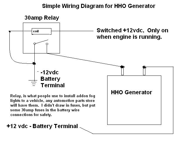 hho wiring diagram for automobile this diagram shows how flickr rh flickr com 5 Pole Relay Wiring Diagram 4 Pin Relay Wiring Diagram