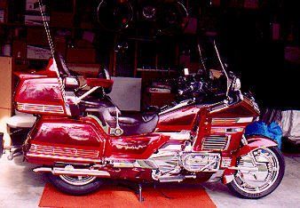 1994 Candy Spectra Red Goldwing Goldwing 1500 SE by BillRo ...