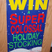 Win Super Colossal Holiday Stocking