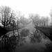 Misty Lepelenburg, Utrecht - black & white