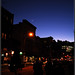 Moon over Greenwich Village