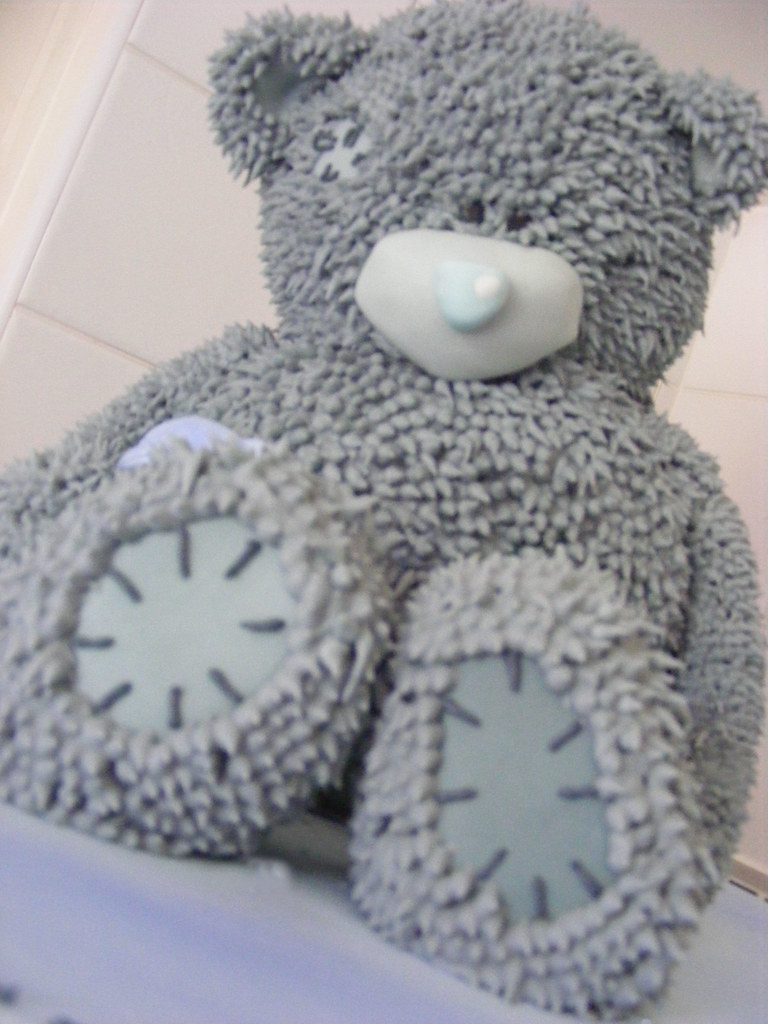 how to make a teddy bear out of fur