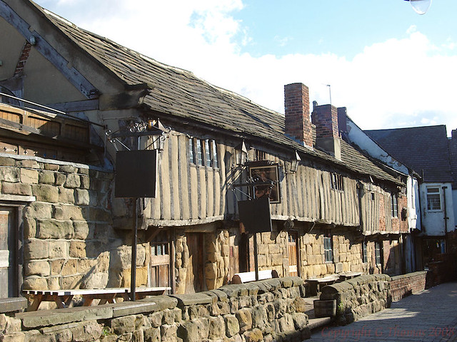 The Counting House Pontefract, historic 14th century build