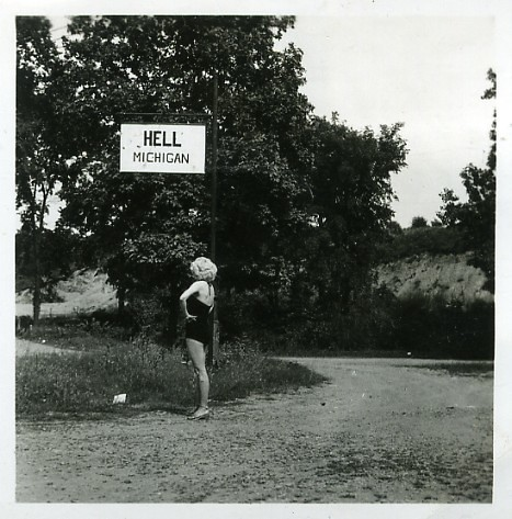 Vintage Photo  Hell Michigan  Hell Michigan 60 Years