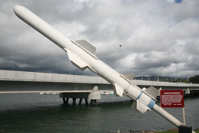 Harpoon Missile | The Harpoon is an all-weather, over-the ...