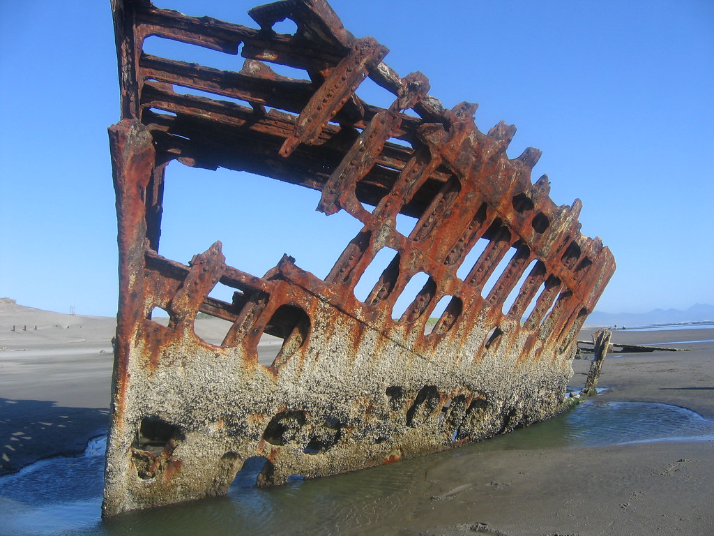Oregon Shipwreck The Peter Iredale Rpdaily2003 Flickr