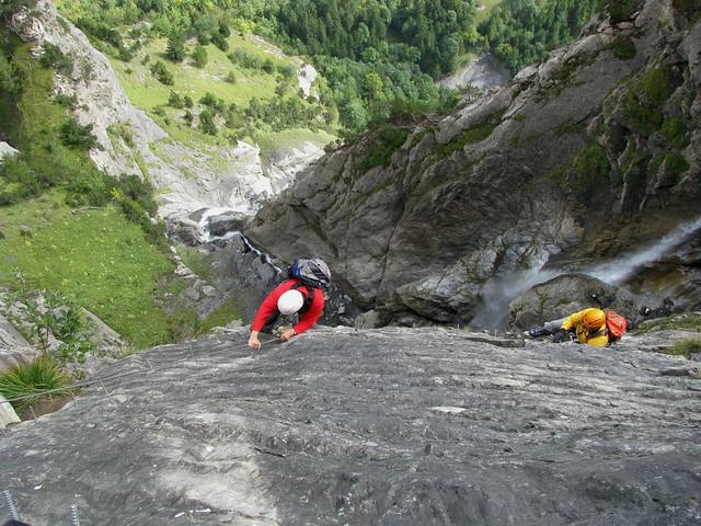 Klettersteig Bern : Klettersteig kandersteg allmenalp im berner oberland u flickr