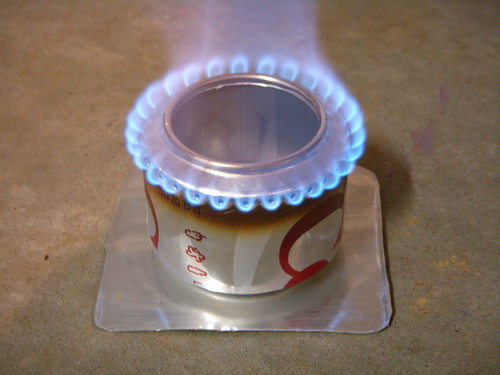 Soda Can Stove By Brian S Backpacking Blog