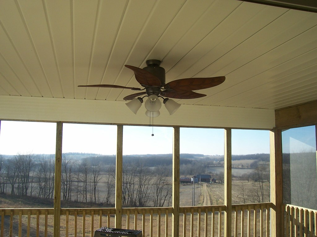 Screened Porch Ceiling Fan Dorothy Flickr