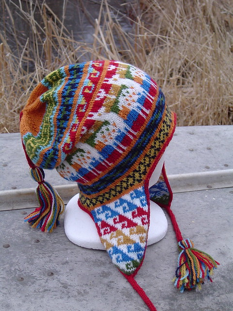 Andean Chullo Hat Pattern And Yarns From Knit Picks Spindle And
