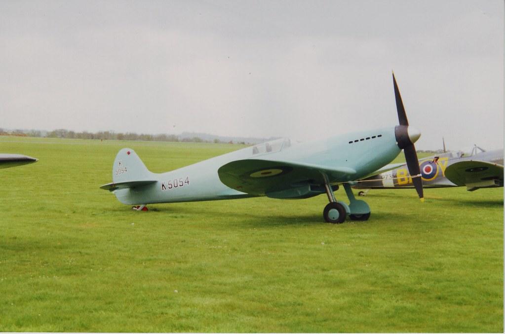 Spitfire prototype Duxford
