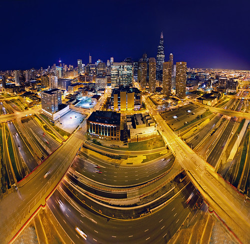 Chicago Loop extreme panoramic | by Rasidel Slika
