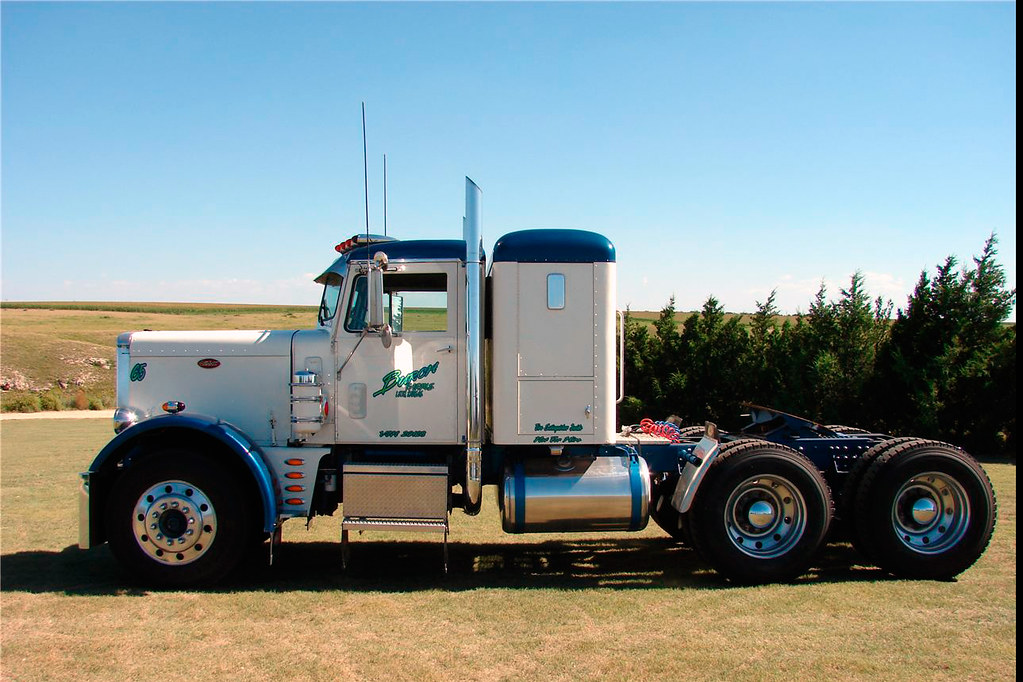 1965 White 4000 Semi Tractor : Peterbilt hp klintan flickr