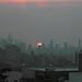 Murky sunset