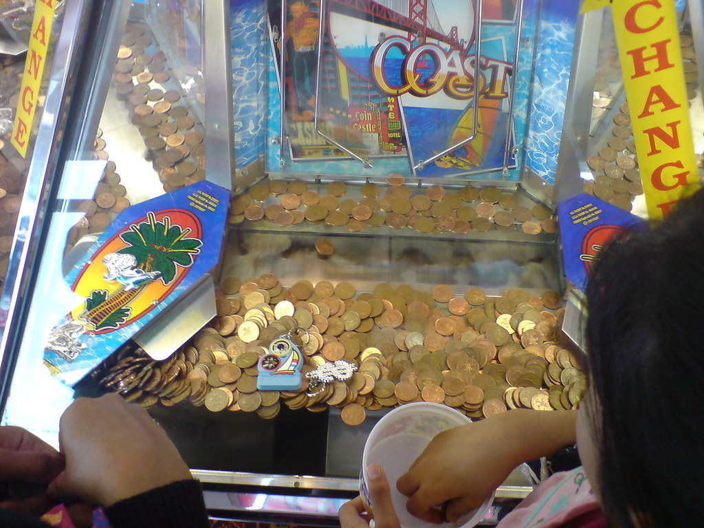 Route For Me >> 2p cascade machine in seaside arcade Hunstanton | These are … | Me | Flickr