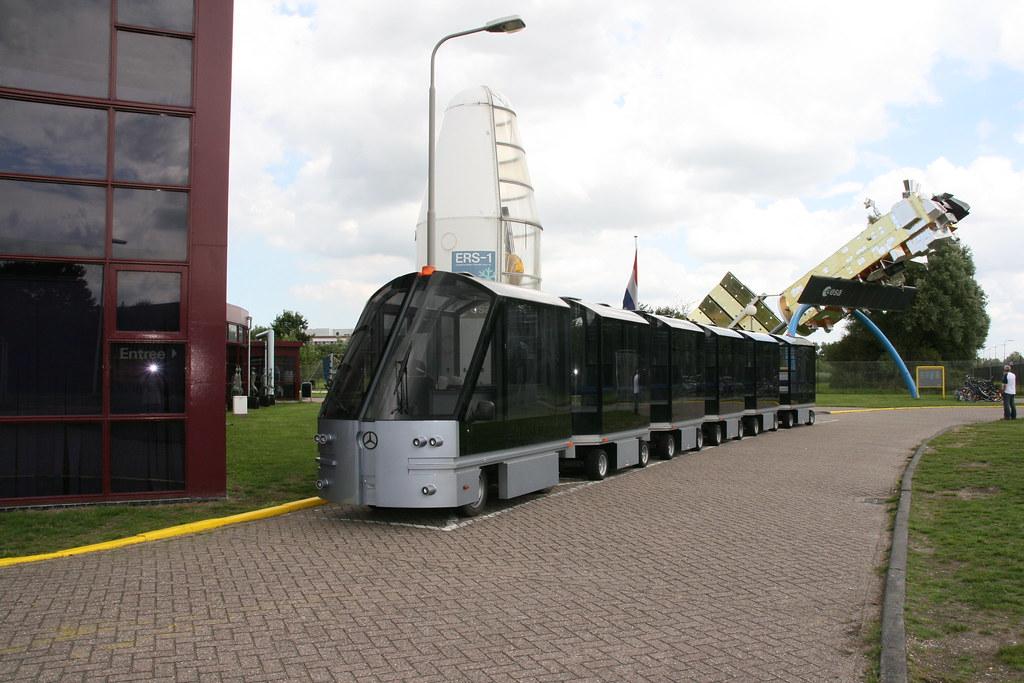 Space Train @ ESA's Space Expo in Noordwijk | Arthur de ...