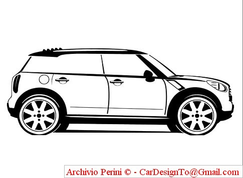 Mini Suv Concept Paris Outline Right Sidejpg Flickr