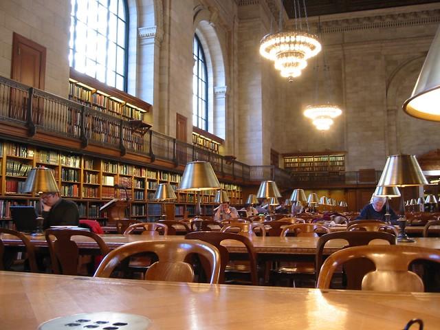 Rose Main Reading Room New York Public Library I Took