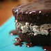 Chocolate-covered Oreo Cake