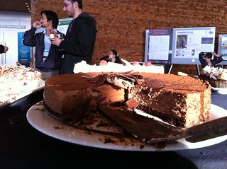 chocolate cake at CHI2011 | by Lucy Buykx (UX)