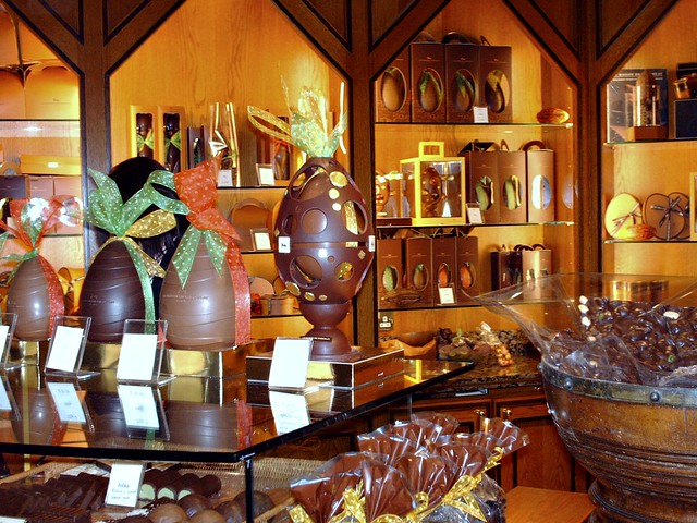 Harrod's Easter chocolate eggs